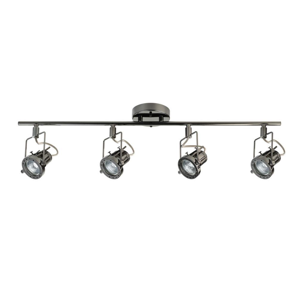 Track lighting led modern industrial more the home depot canada arga 4 light track bar aloadofball Images