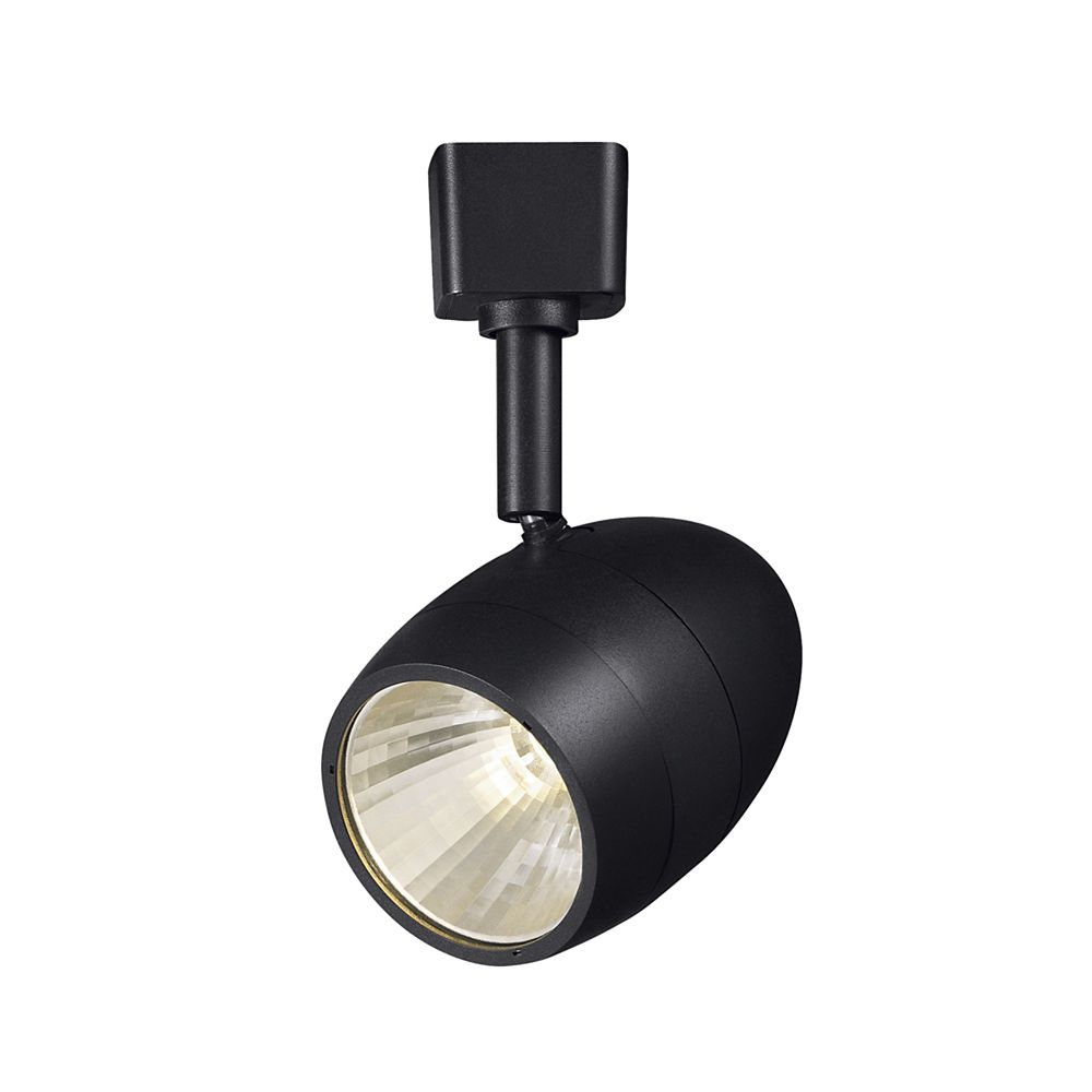 Black Dimmable Led Track Head
