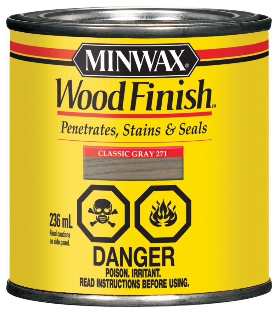 Wood Finish - Classic Grey, 236ml