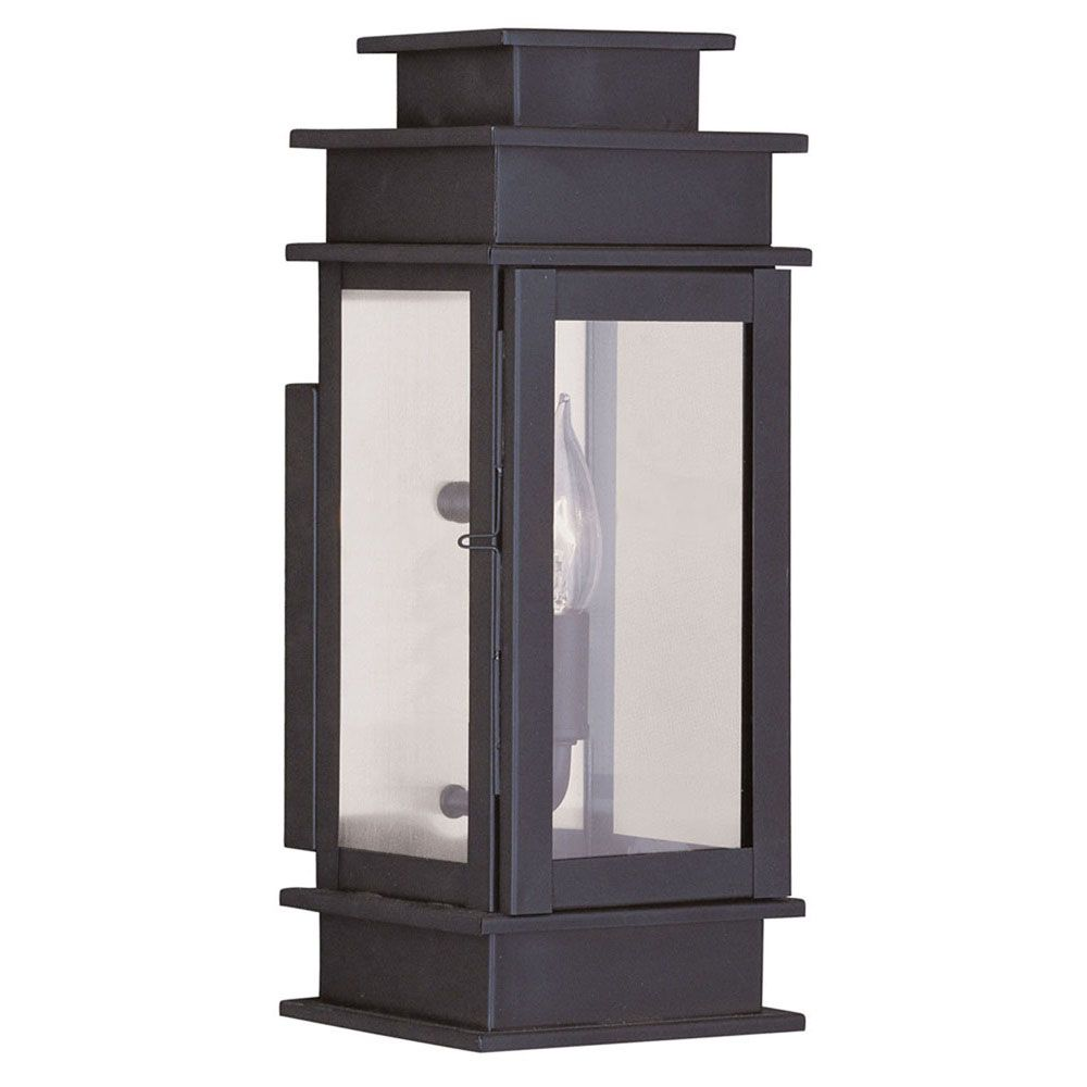 Providence 1 Light Bronze Incandescent Wall Lantern with Clear Glass CLI-LTG2013-07 in Canada