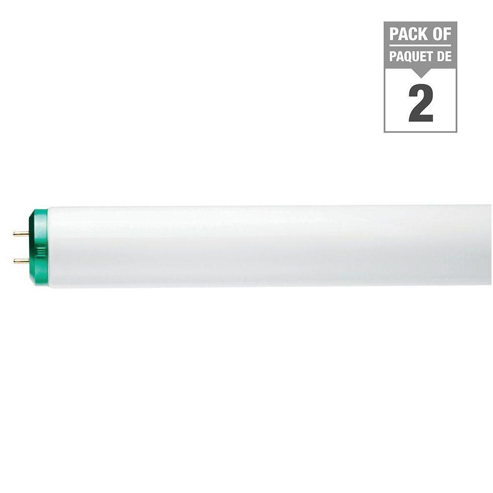 Fluorescent Linéaire T12 40W 48 po Blanc froid (4100K) 2/paq.