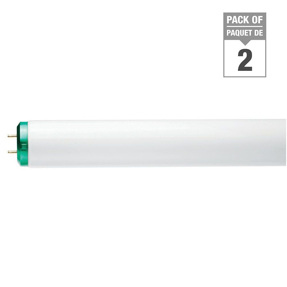 "Fluorescent 40W T12 48"" Cool White Supreme/Alto (4100K) - 2 Pack"