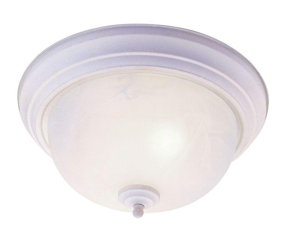 Providence 2 Light White Incandescent Semi Flush Mountwith White Alabaster Glass CLI-LTG7118-03 Canada Discount