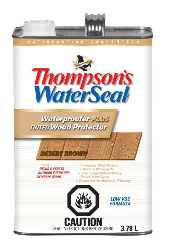 Thompson S Waterseal Waterproofer Plus Nutmeg Brown