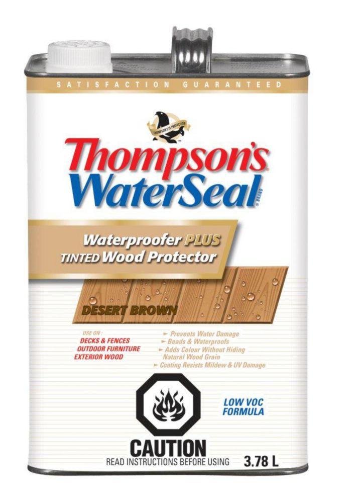Thompson's Waterseal Waterproofer Plus Desert Brown