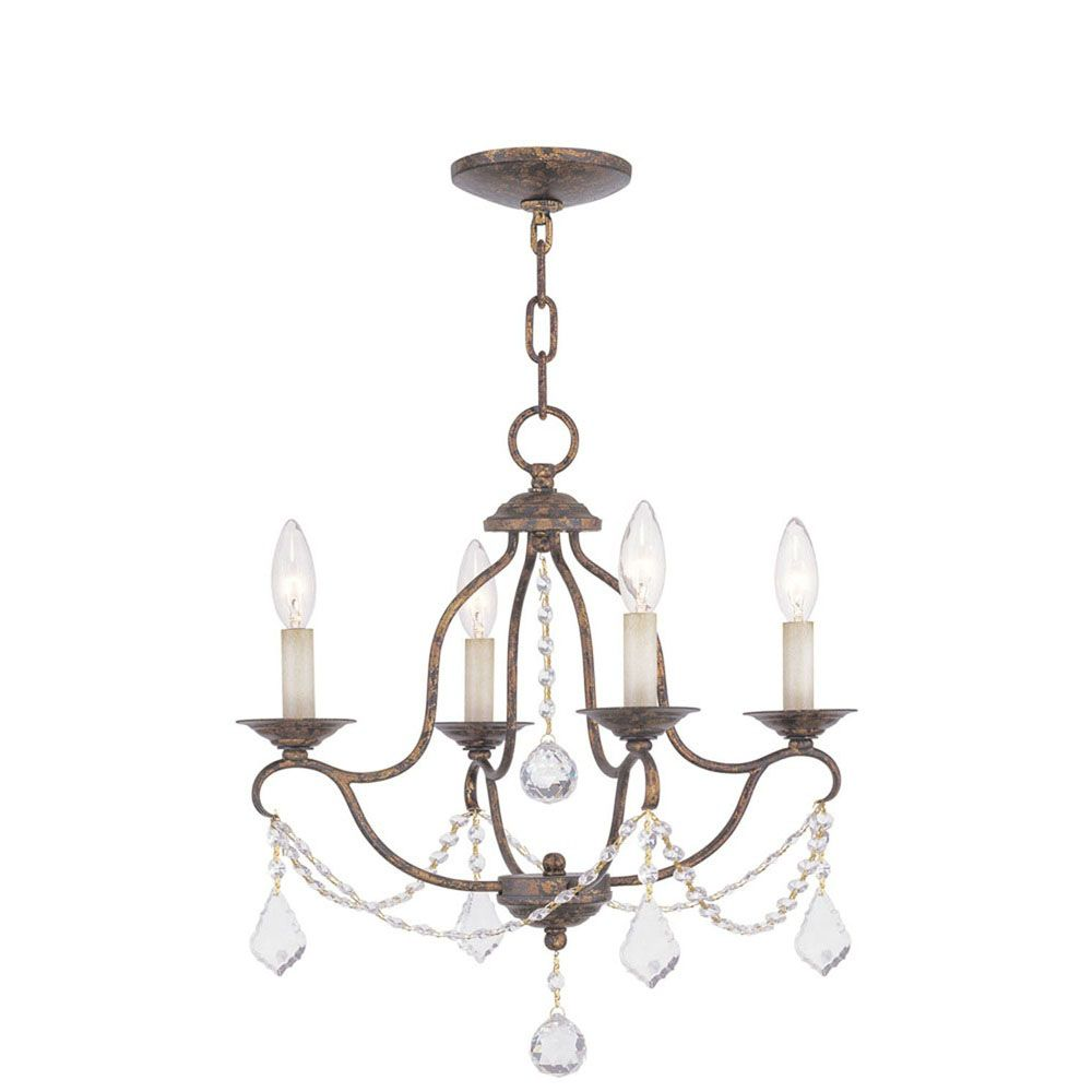 Providence 4-Light Venetian Gold Chandelier