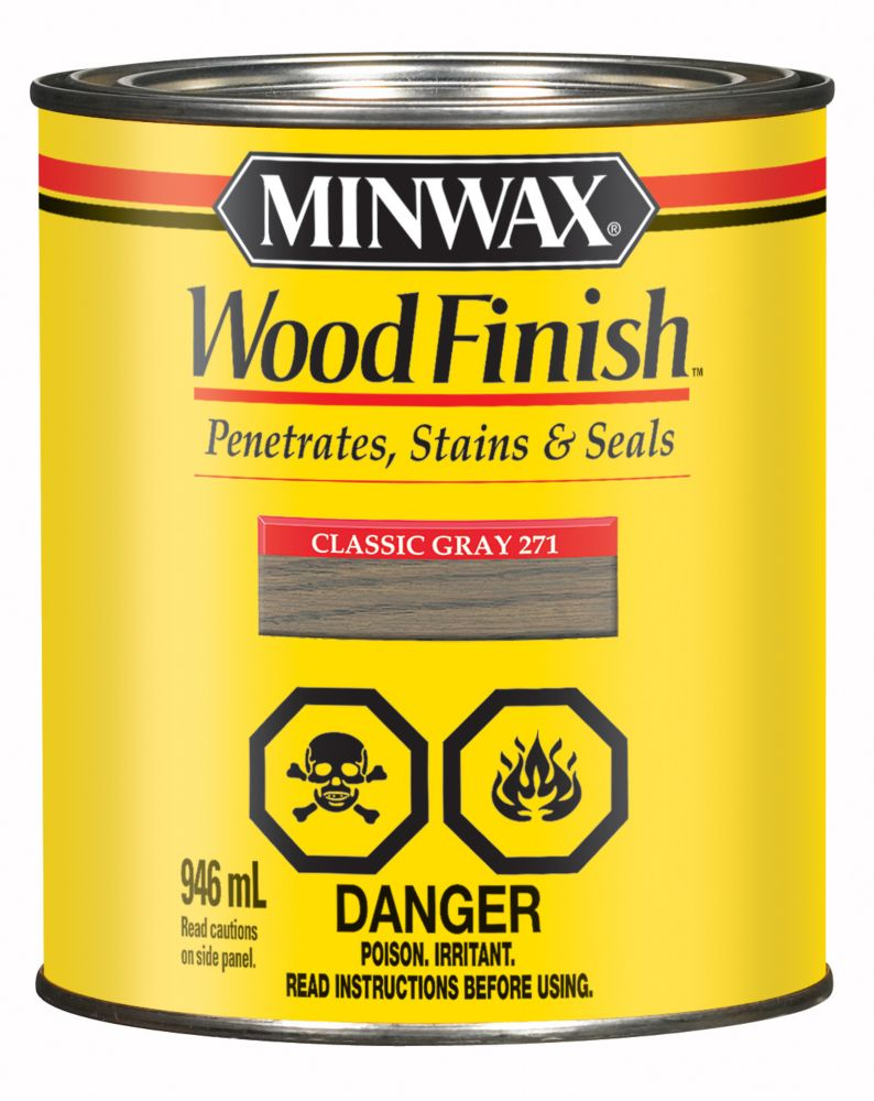 Wood Finish, Classic Grey, 946ml