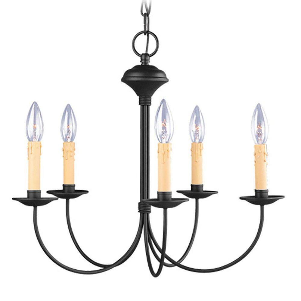 lumière accrochante avec style couleur en noir