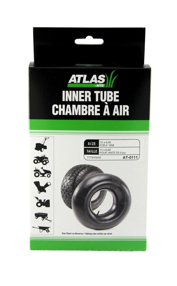 Inner Tube -  Used On Tire Sizes 15 x 6-6