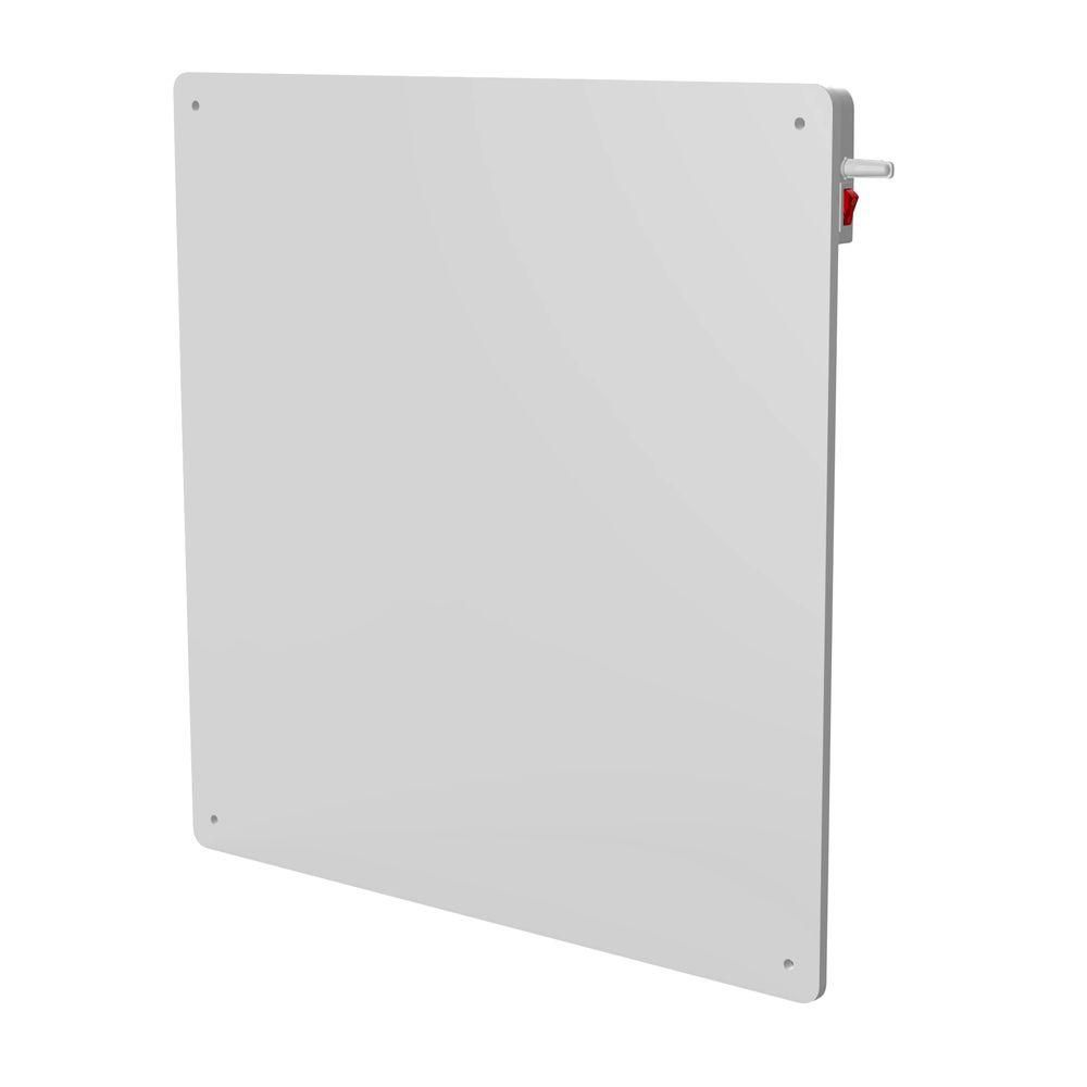 Wall Mount Heater With Thermostat : Ceramic w wall mounted panel heater with built in