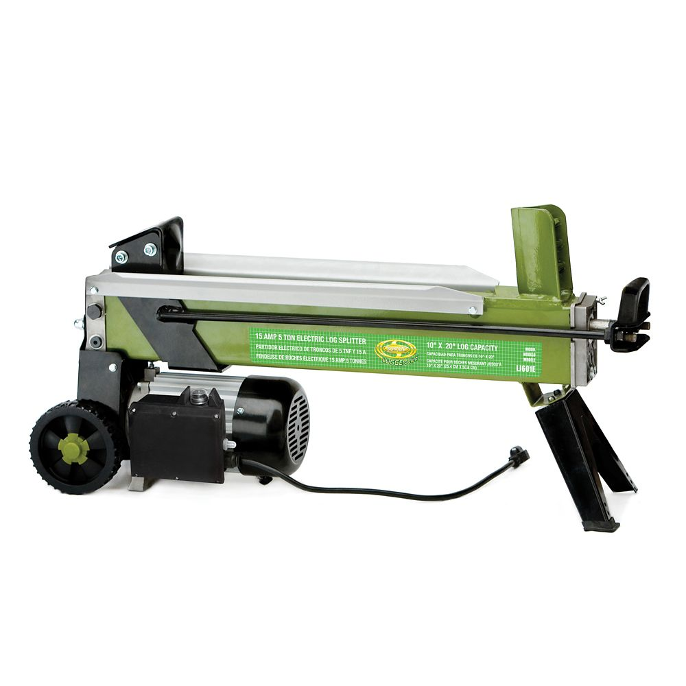 Logger Joe 5 Ton Splitting Force Electric Log Splitter