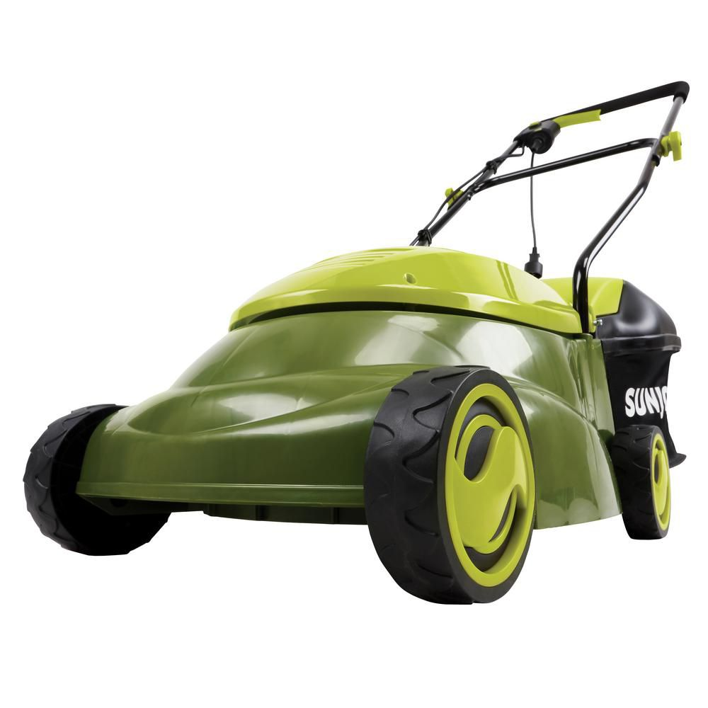 14-inch Mow Joe Electric Lawn Mower with 3 Height Adjustments