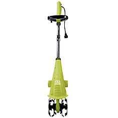 2.5 amp Aardvark Electric Garden Cultivator with Adjustable Handle and Shaft