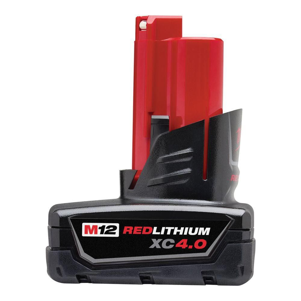 M12� REDLITHIUM� 12V XC 4.0 Extended Capacity Battery Pack