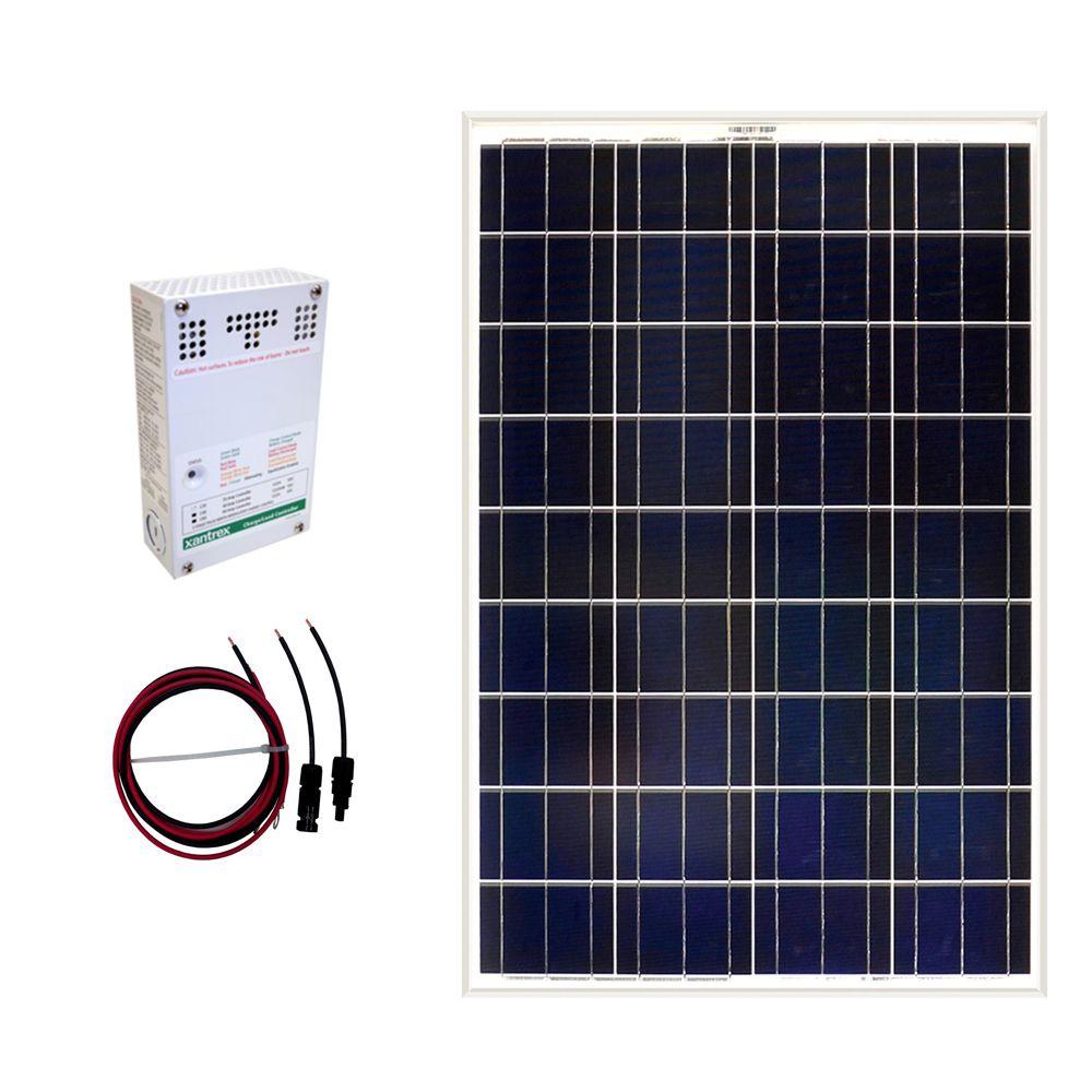 Ensemble de panneaux solaire autonome 100 W