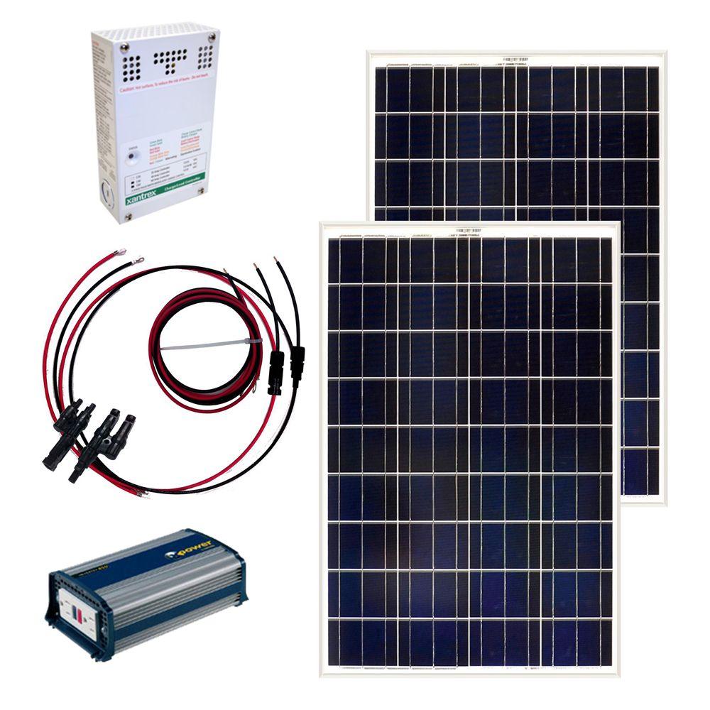 Ensemble de panneaux solaire autonome 200 W