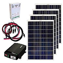 Grape Solar 400W Off-Grid Solar Panel Kit