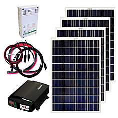 400W Off-Grid Solar Panel Kit
