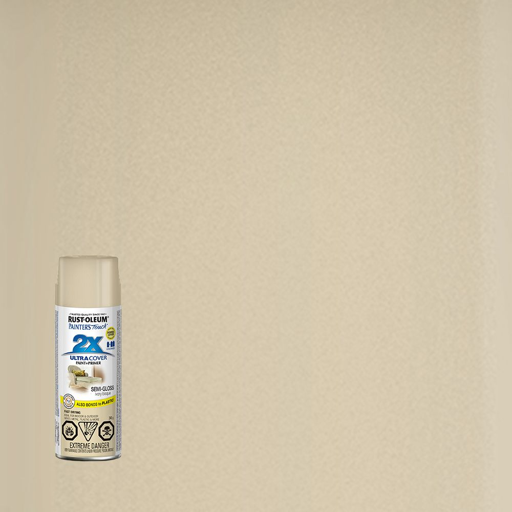 Painter's Touch 2X Semi-Gloss Ivory Bisque