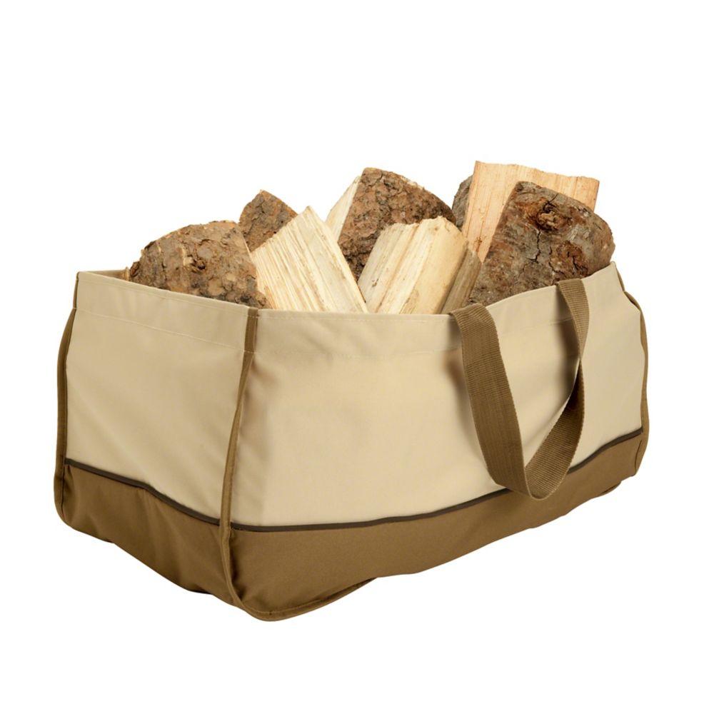 Grand sac porte-bûches