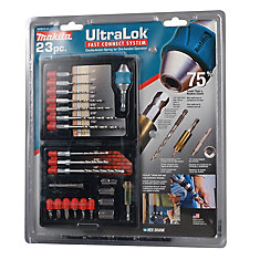 23-Piece Ultra Lock Drill Set