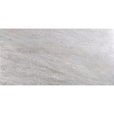 Fragment Grey 12-inch x 24-inch Porcelain Tile