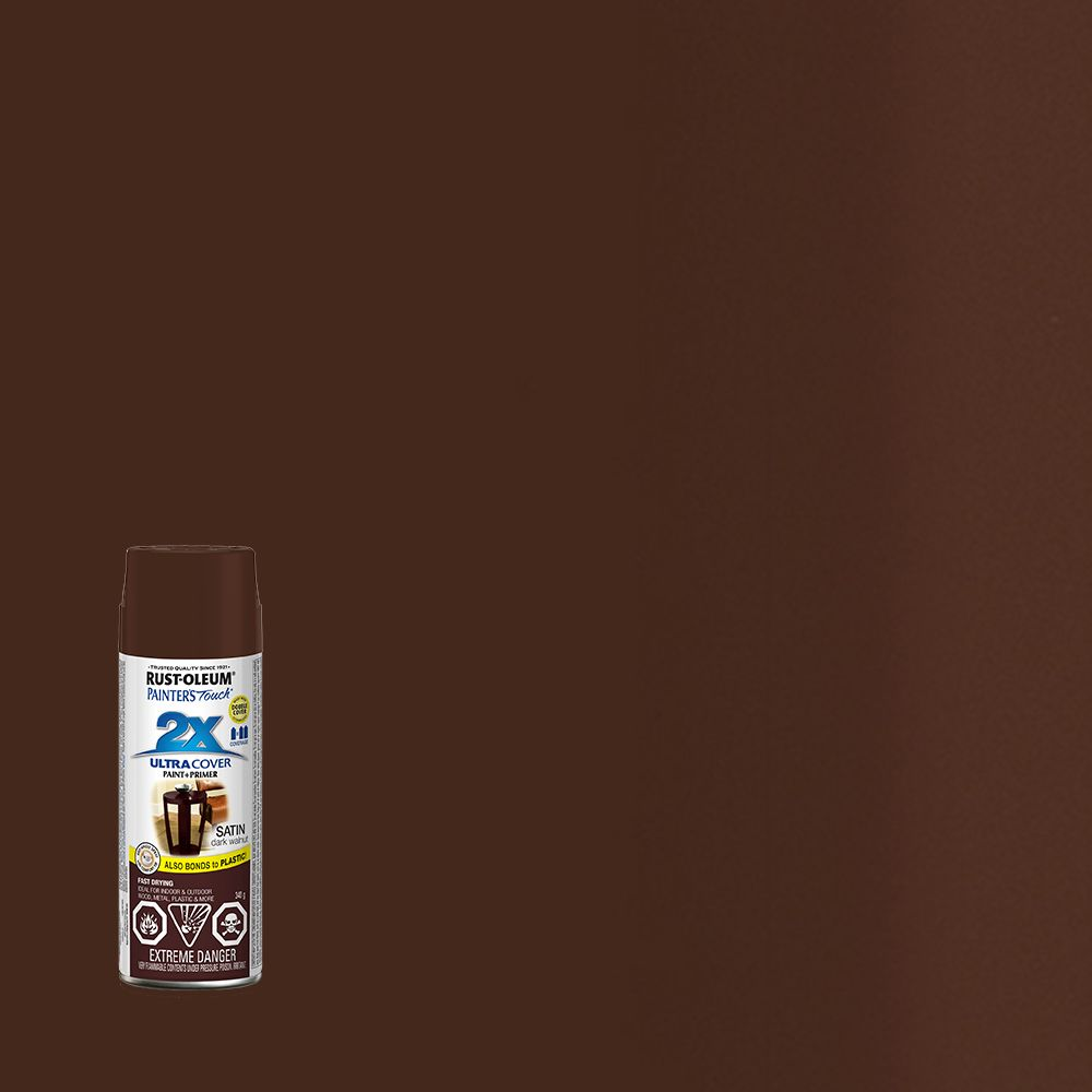 Painter's Touch 2X Satin Dark Walnut