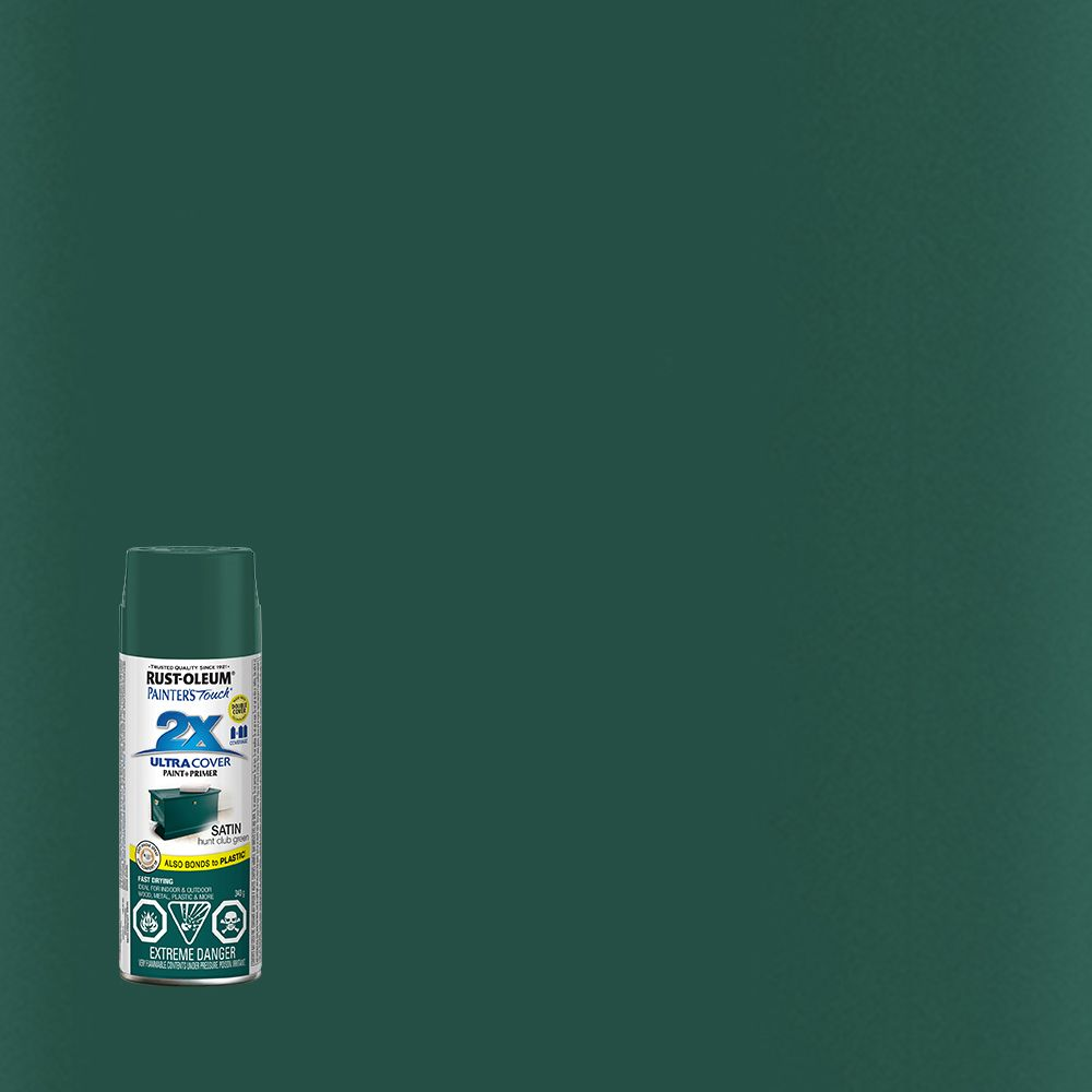 Painter's Touch 2X Satin Hunt Club Green