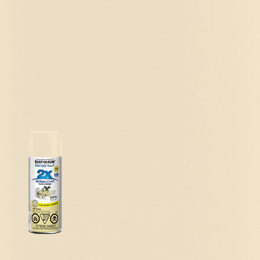 Painter's Touch 2X Satin Ivory Silk