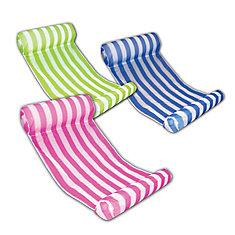 Chaise longue hamac d'eau