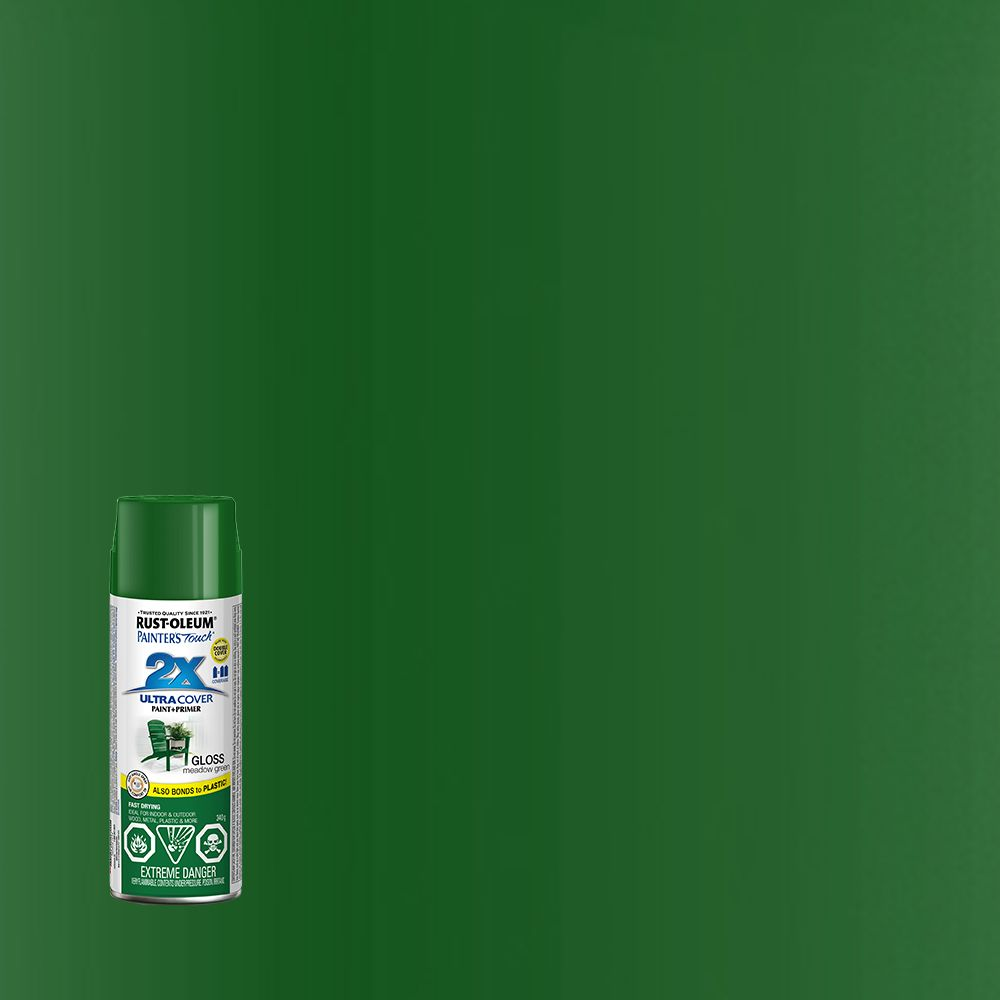 Painter's Touch 2X Gloss Meadow Green