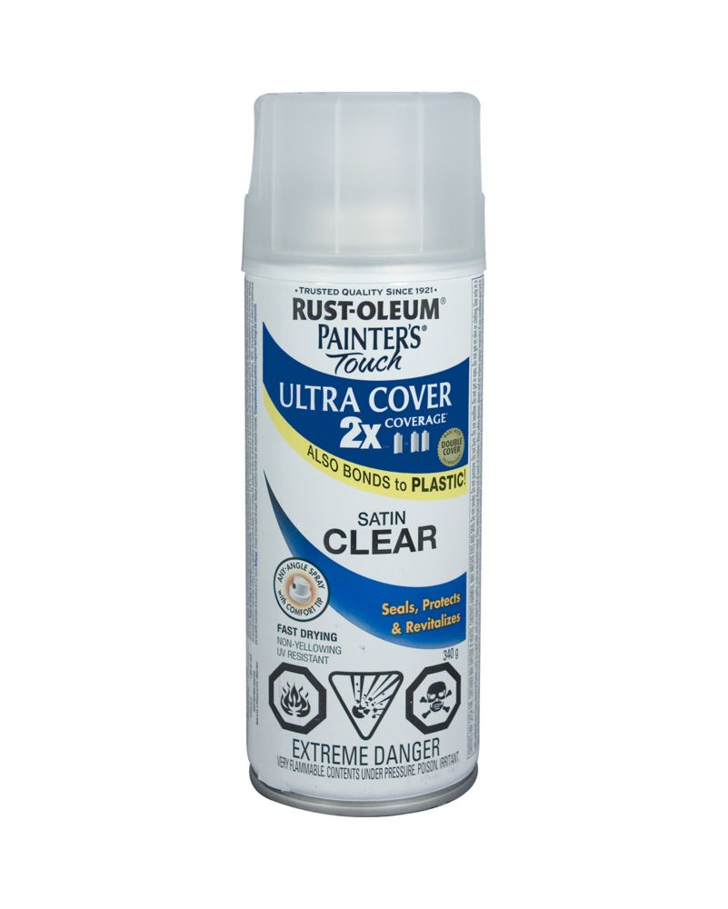 Painter 39 s touch 2x satin clear 268409 canada discount Spray paint cheap