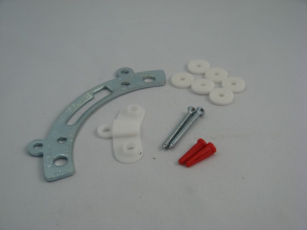 Toilet Bowl Anchor Flange Kit