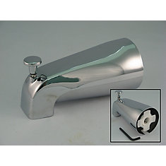 Replacement Slip Fit Bathtub Spout with Diverter