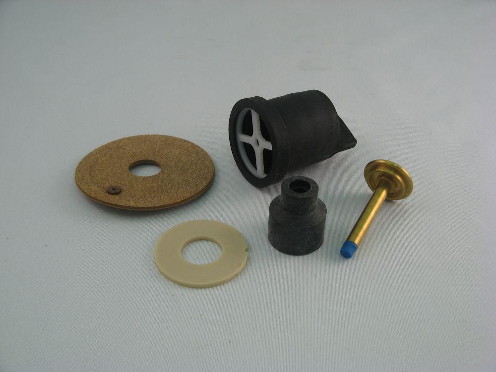 Jag Plumbing Products Toilet repair combination kit fits CRANE PRESTO Flush Valves