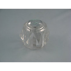 Replacement Acrylic Crystal Shower Handle fits DELTA Scald Guard and Monitor shower trim kits