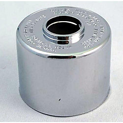Jag Plumbing Products Replacement Escutcheon Dome, Fits Symmons - Chrome Plated, Threaded: Ref T19 / T20
