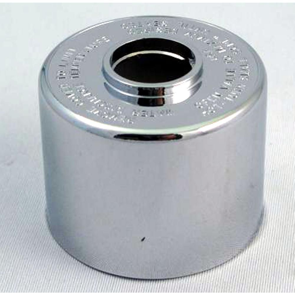 Replacement Escutcheon Dome, Fits Symmons - Chrome Plated, Threaded: Ref T19 / T20