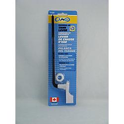 Jag Plumbing Products Manette de réservoir de remplacement en plastique se courbant, adopte langle voulu