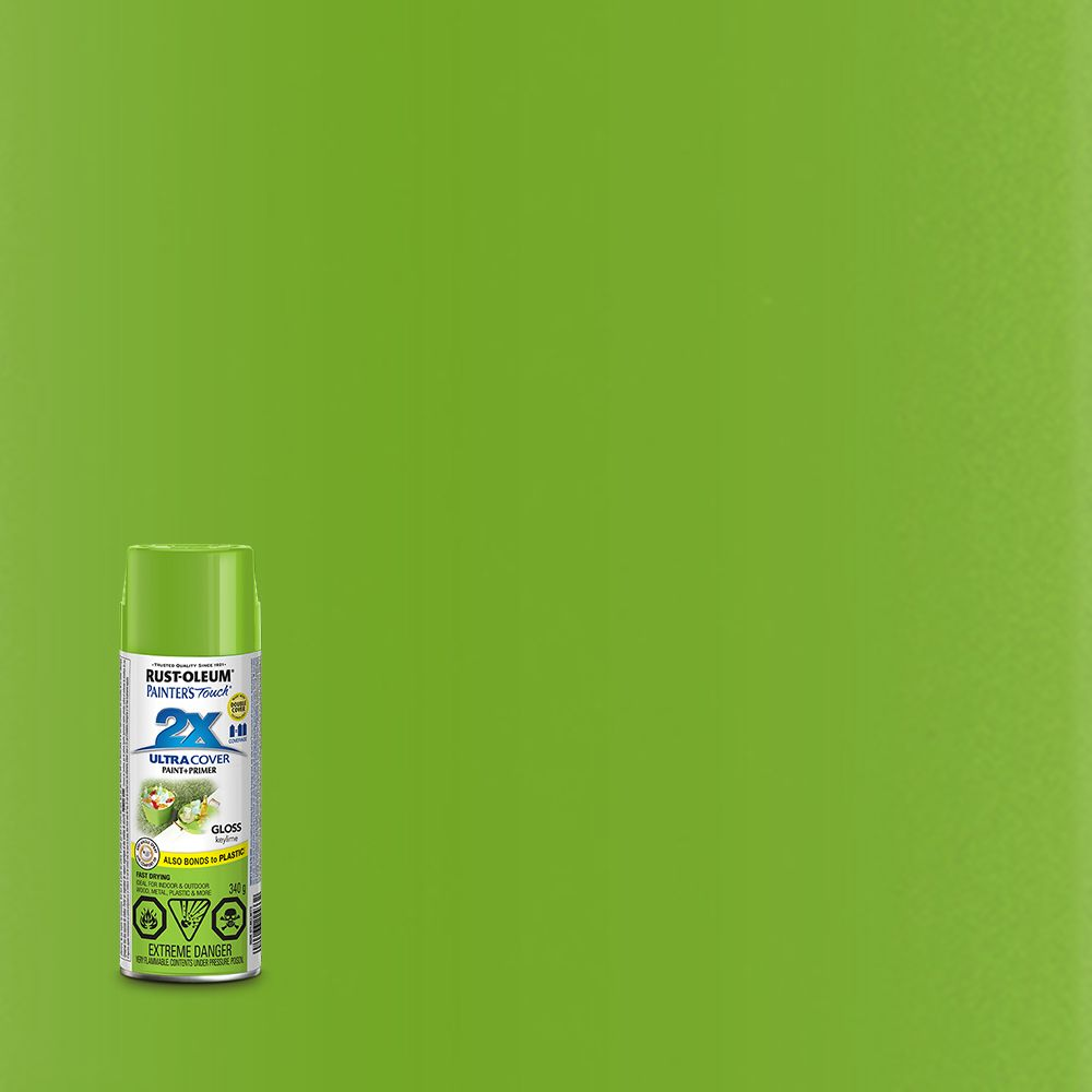 Painter's Touch 2X Gloss Key Lime 268399 Canada Discount