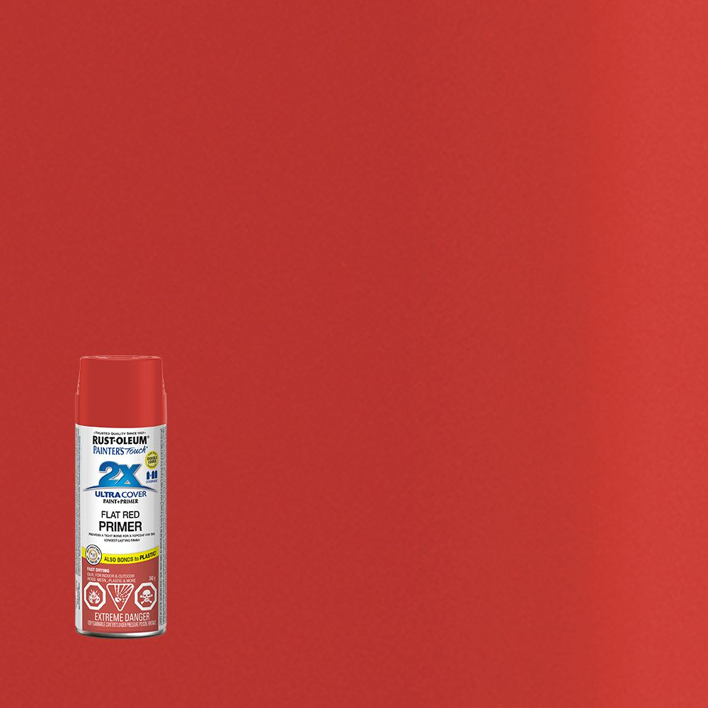 Painter's Touch 2X Flat Red Primer 268391 Canada Discount