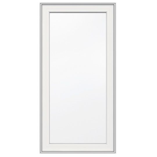30-inch x 48-inch 5000 Series Vinyl Left Handed Casement Window with 3 1/4-inch Frame