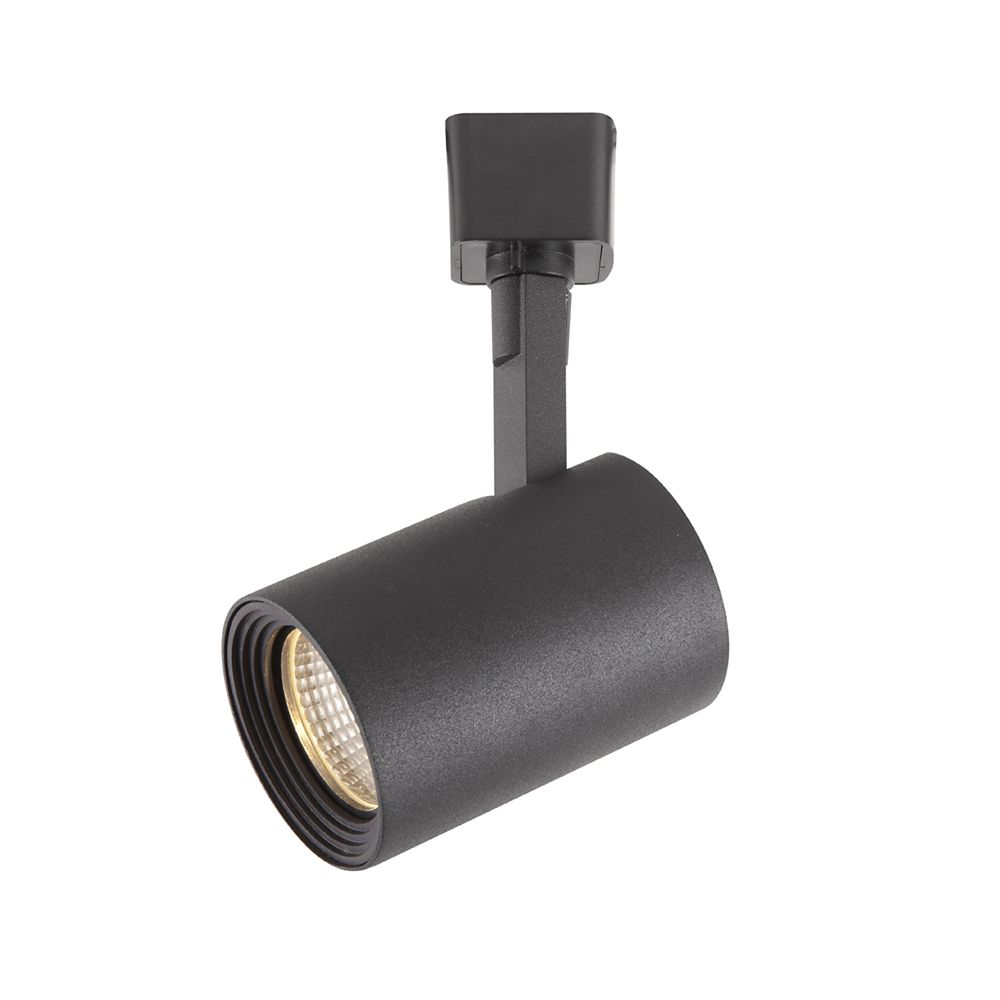 Black Dimmable Led Track Cylinder