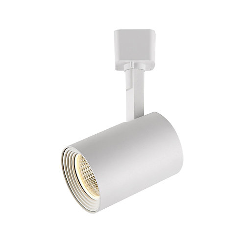 Hampton bay white dimmable led track cylinder the home depot canada white dimmable led track cylinder aloadofball Image collections