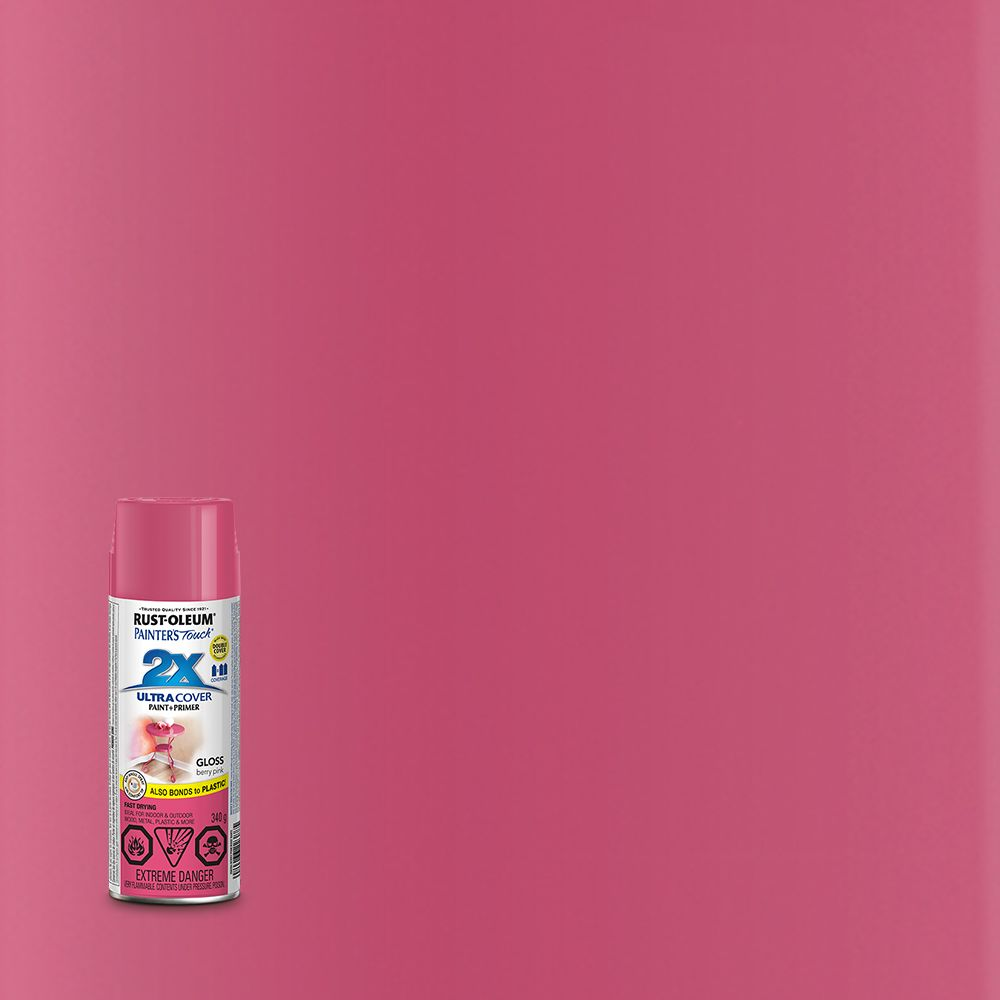 Painter's Touch 2X Gloss Berry Pink 268394 Canada Discount
