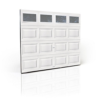 Clopay Premium Series 3000sp 8 Ft X 7 Ft White Garage Door With