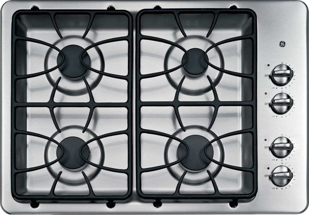 30-inch Built-In Gas Cooktop in Stainless Steel