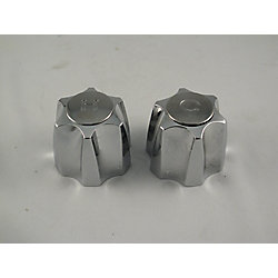 Jag Plumbing Products Replacement Pair of Lavatory Faucet Handles Fits EMCO in Chrome Finish