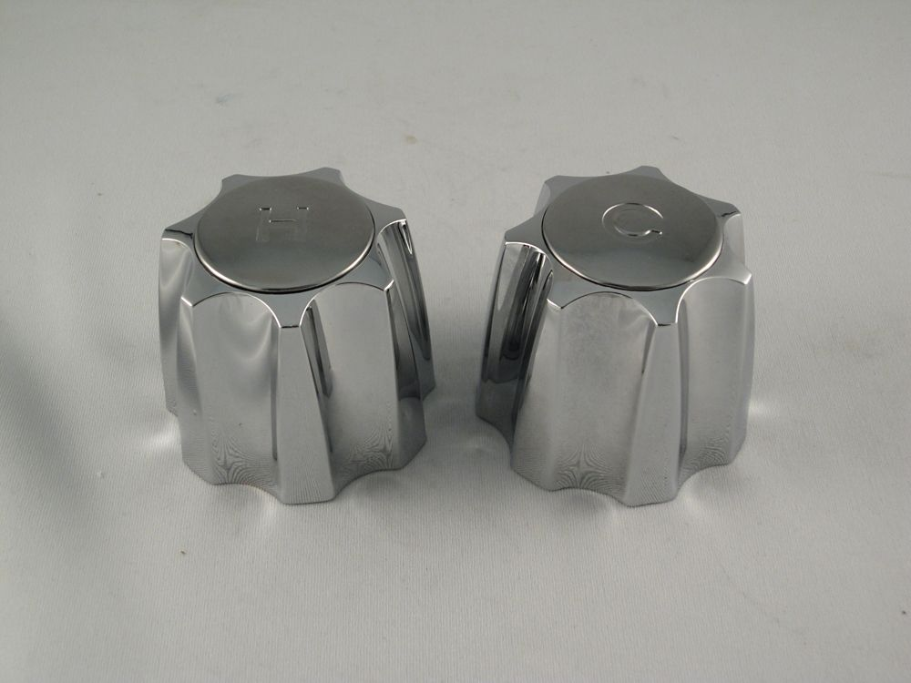 Replacement Pair of Lavatory Faucet Handles Fits EMCO