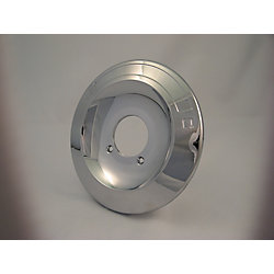 Jag Plumbing Products Replacement Shower Escutcheon Plate, Fits Delta - Chrome Plated 6 and 3/4 inch